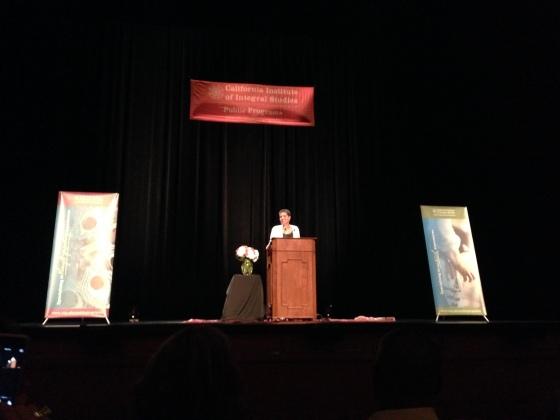 Michelle Alexander - San Francisco CIIS Lecture - October 17, 2013