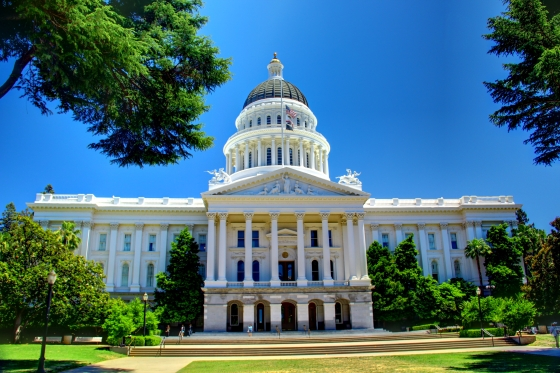 California State Capitol Building, Sacramento, CA. Photo credit: Asilvero